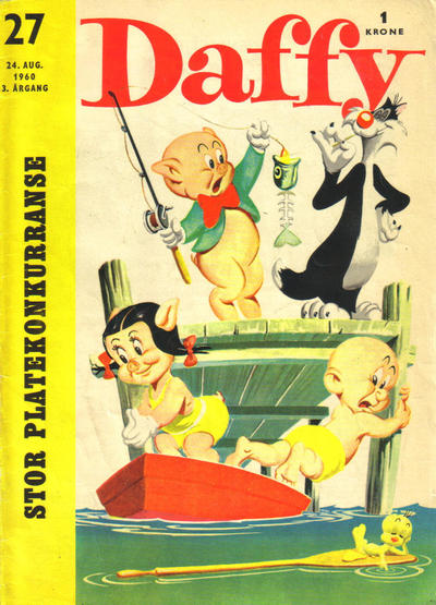 Cover for Daffy (Allers Forlag, 1959 series) #27/1960