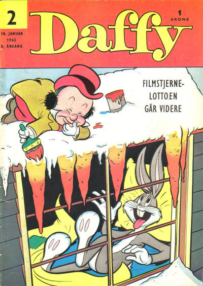 Cover for Daffy (Allers Forlag, 1959 series) #2/1962