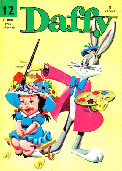 Cover for Daffy (Allers Forlag, 1959 series) #12/1962