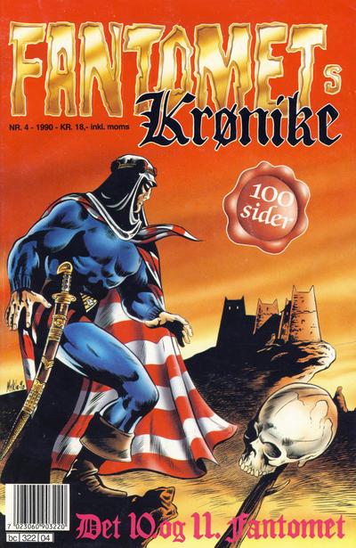Cover for Fantomets krønike (Semic, 1989 series) #4/1990