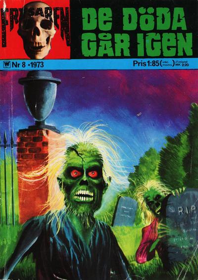 Cover for Frysaren (Williams Förlags AB, 1972 series) #8/1973