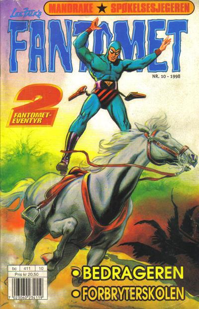 Cover for Fantomet (Hjemmet / Egmont, 1998 series) #10/1998