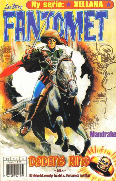 Cover for Fantomet (Hjemmet / Egmont, 1998 series) #17/1998