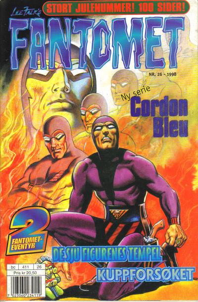 Cover for Fantomet (Hjemmet / Egmont, 1998 series) #26/1998