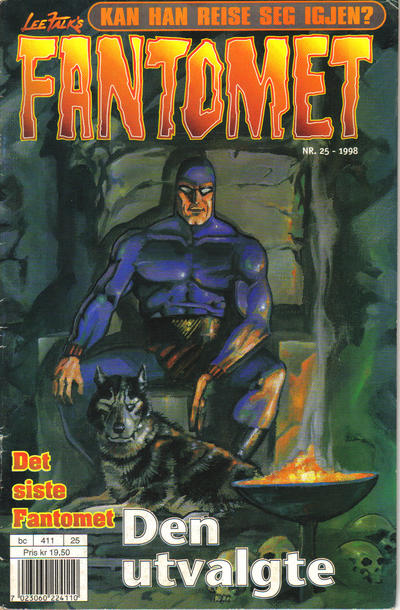 Cover for Fantomet (Hjemmet / Egmont, 1998 series) #25/1998