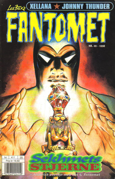 Cover for Fantomet (Hjemmet / Egmont, 1998 series) #20/1998