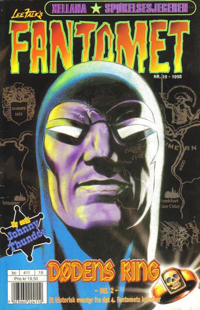 Cover for Fantomet (Hjemmet / Egmont, 1998 series) #19/1998