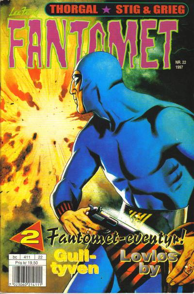Cover for Fantomet (Semic, 1976 series) #22/1997