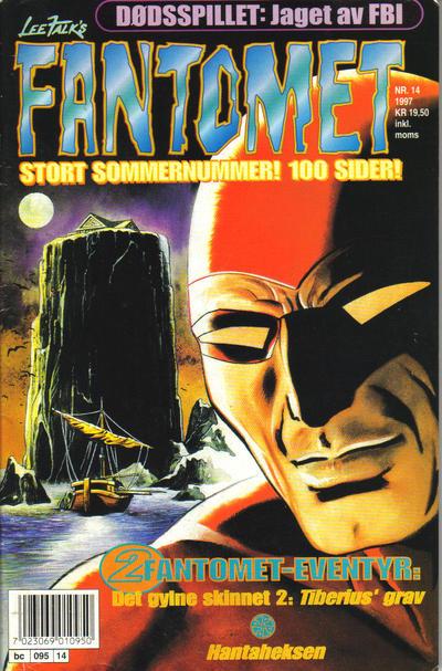 Cover for Fantomet (Semic, 1976 series) #14/1997