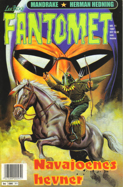 Cover for Fantomet (Semic, 1976 series) #11/1997