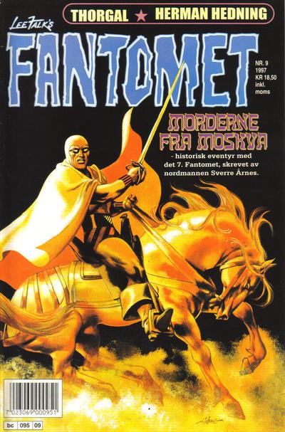 Cover for Fantomet (Semic, 1976 series) #9/1997