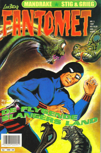 Cover for Fantomet (Semic, 1976 series) #5/1997