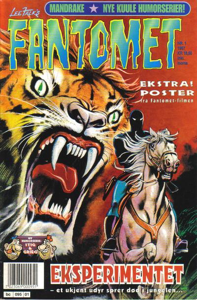 Cover for Fantomet (Semic, 1976 series) #1/1997