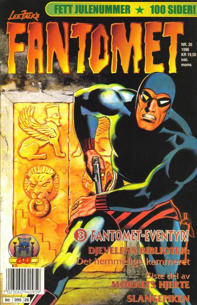 Cover for Fantomet (Semic, 1976 series) #26/1996