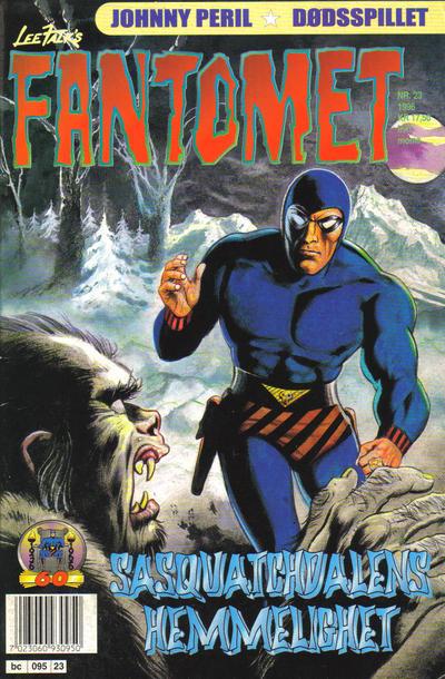 Cover for Fantomet (Semic, 1976 series) #23/1996