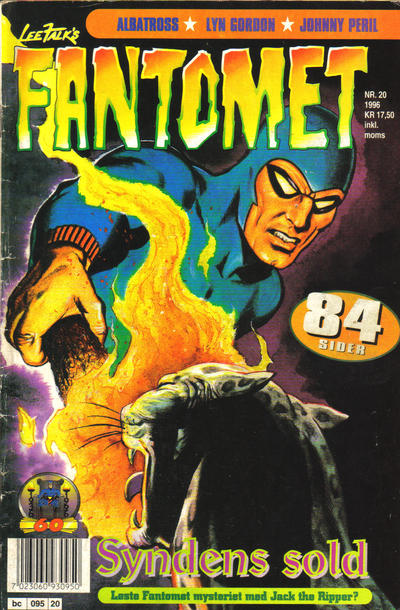 Cover for Fantomet (Semic, 1976 series) #20/1996