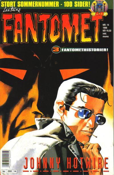 Cover for Fantomet (Semic, 1976 series) #14/1996