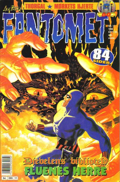 Cover for Fantomet (Semic, 1976 series) #11/1996