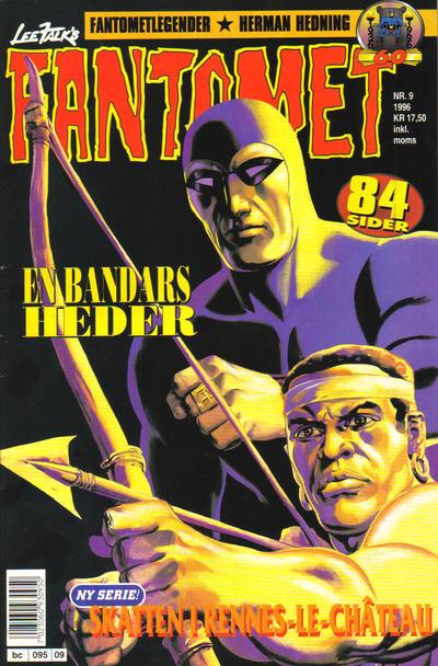 Cover for Fantomet (Semic, 1976 series) #9/1996