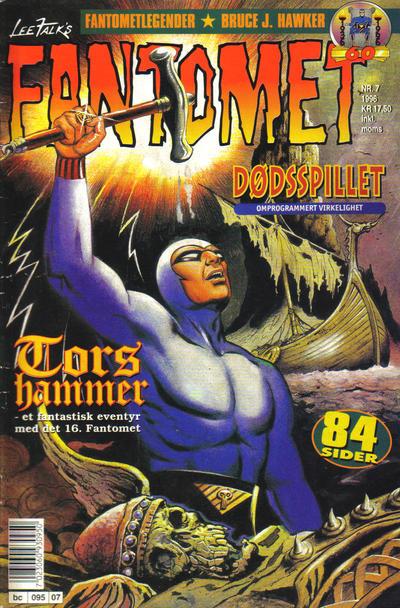 Cover for Fantomet (Semic, 1976 series) #7/1996