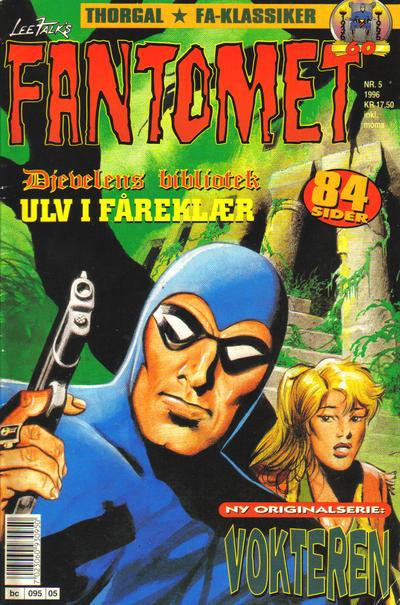 Cover for Fantomet (Semic, 1976 series) #5/1996