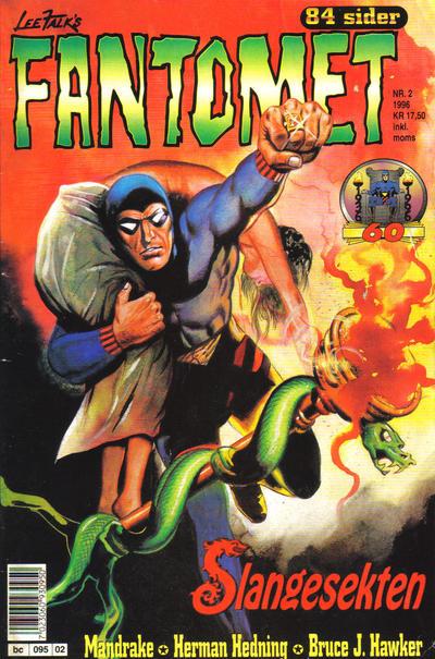 Cover for Fantomet (Semic, 1976 series) #2/1996