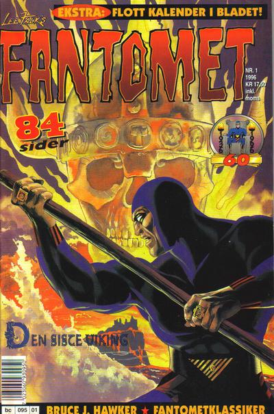 Cover for Fantomet (Semic, 1976 series) #1/1996