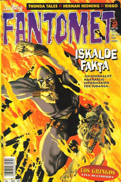 Cover for Fantomet (Semic, 1976 series) #26/1995