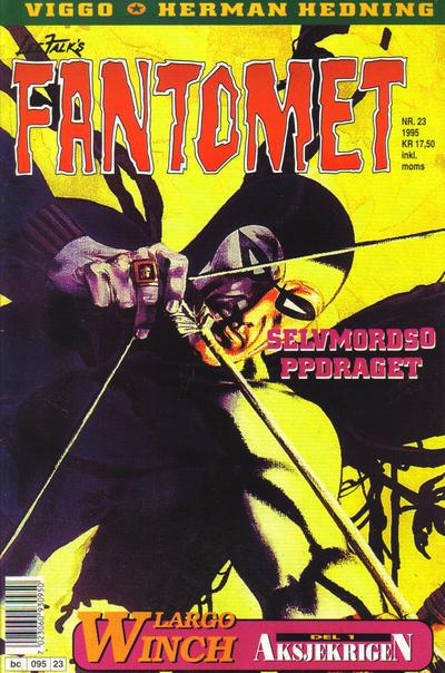 Cover for Fantomet (Semic, 1976 series) #23/1995