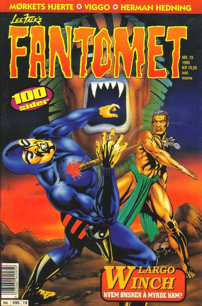 Cover for Fantomet (Semic, 1976 series) #19/1995