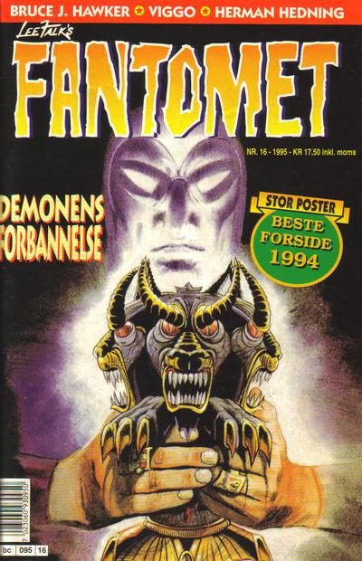 Cover for Fantomet (Semic, 1976 series) #16/1995