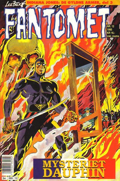 Cover for Fantomet (Semic, 1976 series) #12/1995