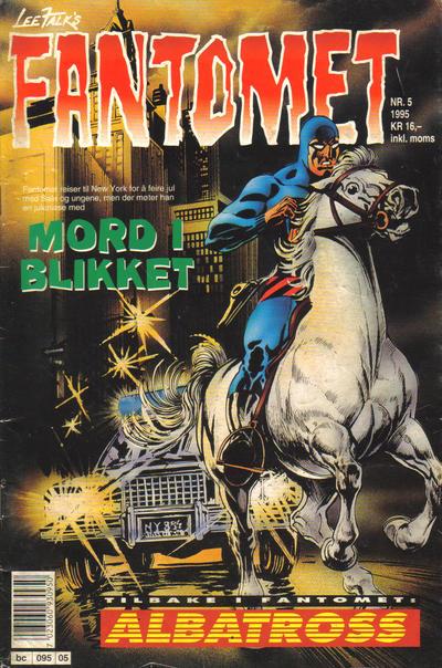 Cover for Fantomet (Semic, 1976 series) #5/1995