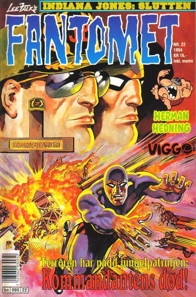 Cover for Fantomet (Semic, 1976 series) #22/1994