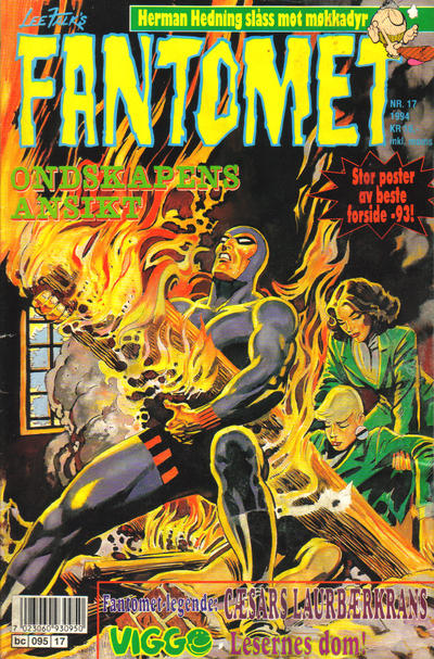 Cover for Fantomet (Semic, 1976 series) #17/1994