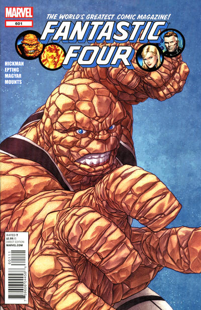Cover for Fantastic Four (Marvel, 2012 series) #601