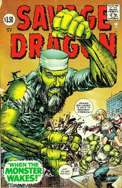 Cover for Savage Dragon (Image, 1993 series) #177