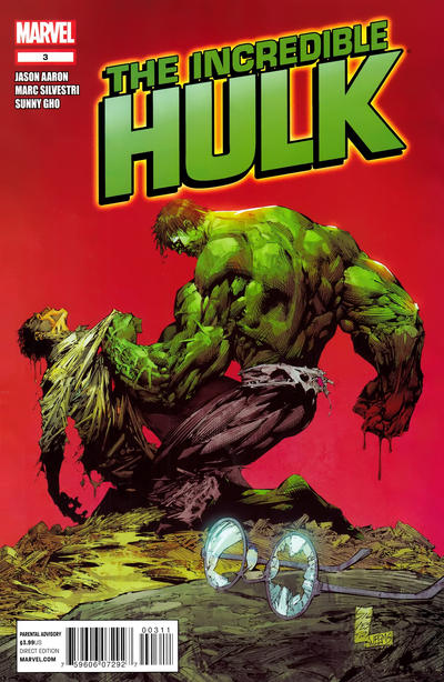 Cover for The Incredible Hulk (Marvel, 2011 series) #3