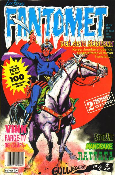 Cover for Fantomet (Semic, 1976 series) #26/1990