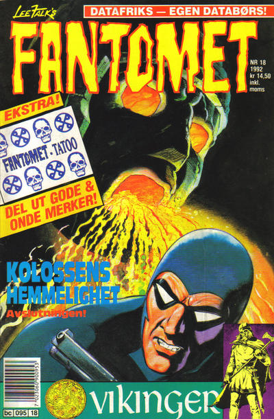 Cover for Fantomet (Semic, 1976 series) #18/1992