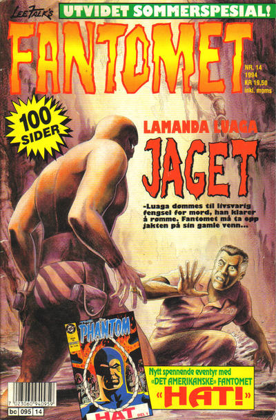 Cover for Fantomet (Semic, 1976 series) #14/1994