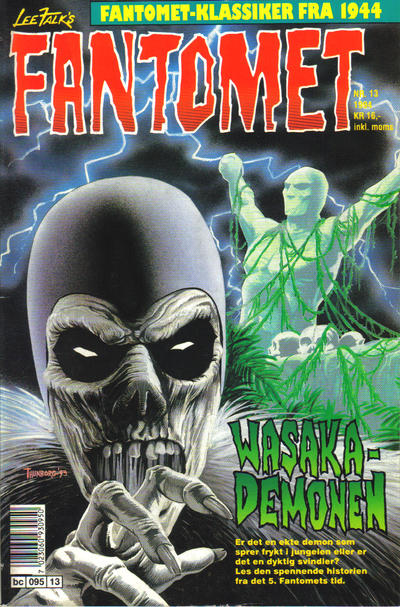 Cover for Fantomet (Semic, 1976 series) #13/1994