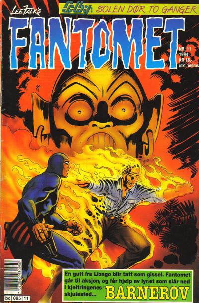Cover for Fantomet (Semic, 1976 series) #11/1994
