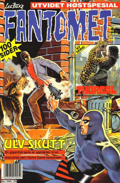Cover for Fantomet (Semic, 1976 series) #20/1992