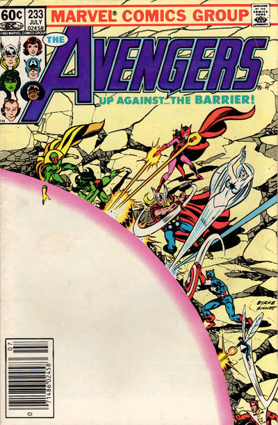 Cover for The Avengers (Marvel, 1963 series) #233 [Direct Edition]