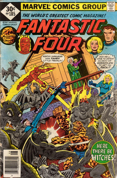 Cover for Fantastic Four (Marvel, 1961 series) #185 [30¢ Cover Price]