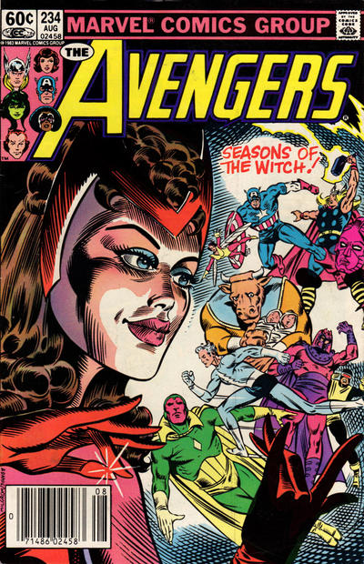 Cover for The Avengers (Marvel, 1963 series) #234 [Direct Edition]