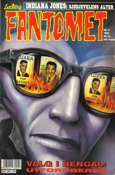 Cover for Fantomet (Semic, 1976 series) #9/1994