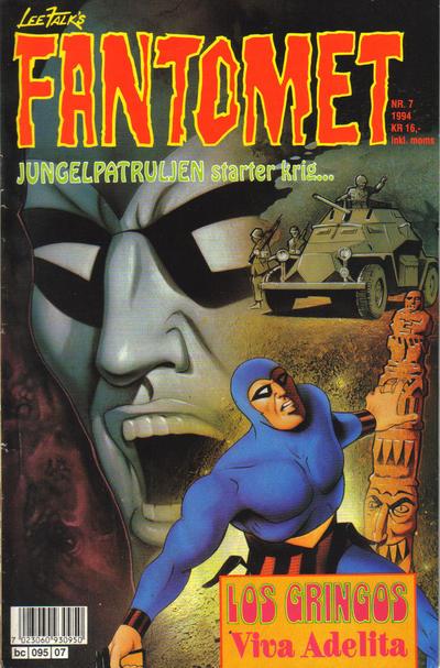 Cover for Fantomet (Semic, 1976 series) #7/1994