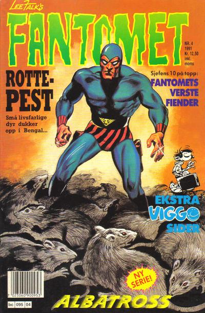 Cover for Fantomet (Semic, 1976 series) #4/1991